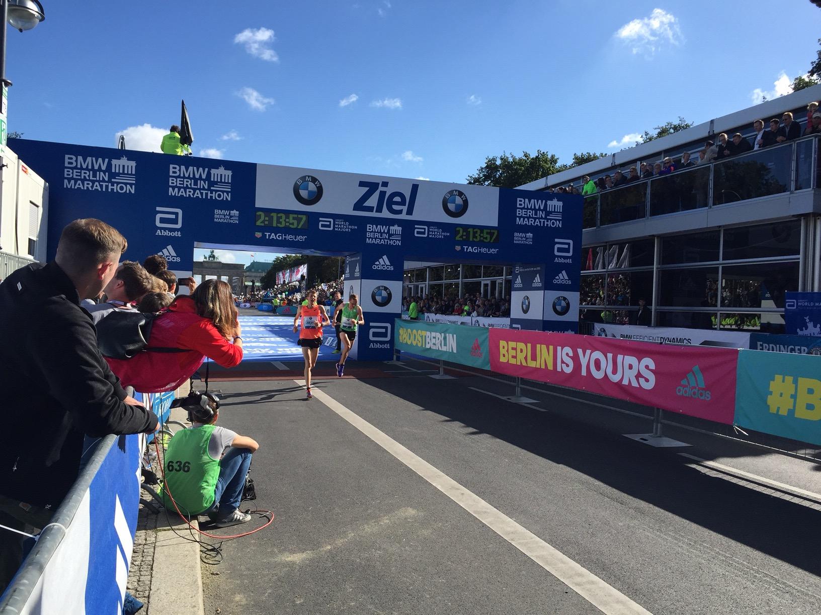 BMW Berlin-Marathon (Bild: Nico Schefer)