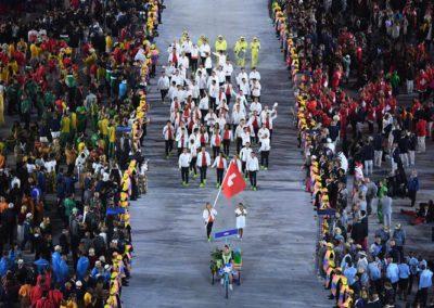 Olympische Spiele Rio 2016 - Eröffnungsfeier (Bild: Richard Heathcote/Pool Photo via AP)