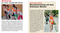 Marathontraining mit dem Schweizer Meister
