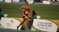 Militärweltspiele Rio 10'000m: 14. Rang