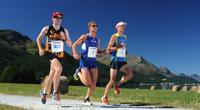 Trainingslager in St. Moritz