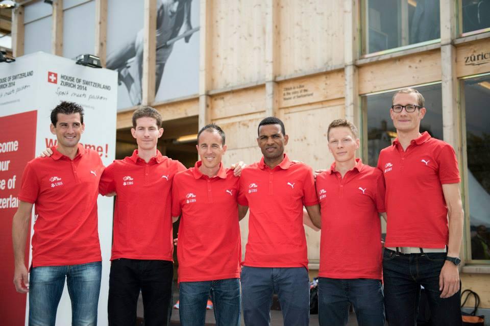 Marathonteam Männer #SwissMarathonPower (Bild: Swiss Athletics)