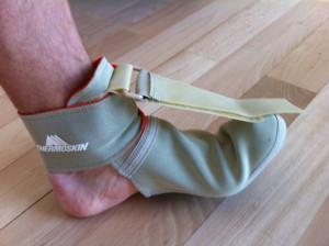 Strassburg-Socke zur Behandlung einer Plantar Fasciitis