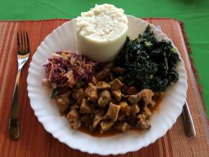 Ugali - 100% geschmacklose Spachtelmasse