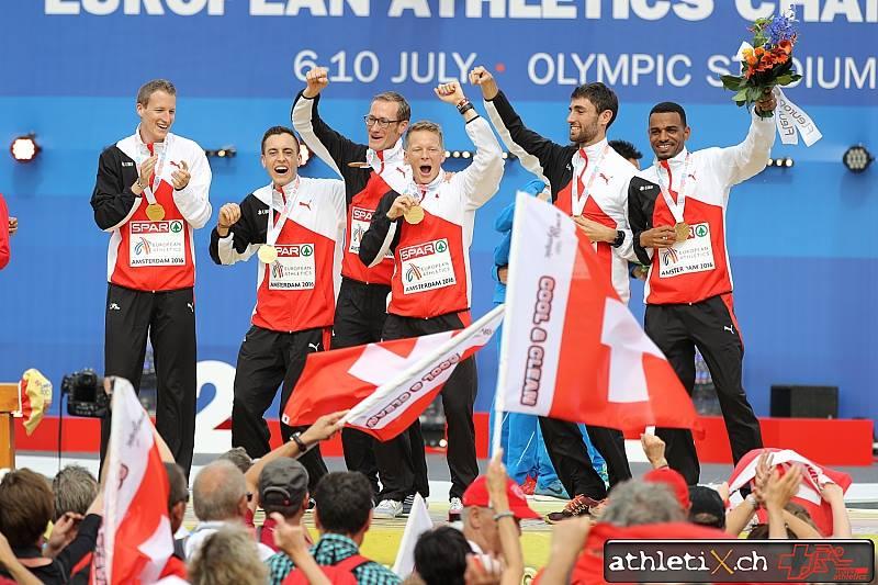 Team Europameister Halbmarathon 2016 (Bild: athletix.ch)