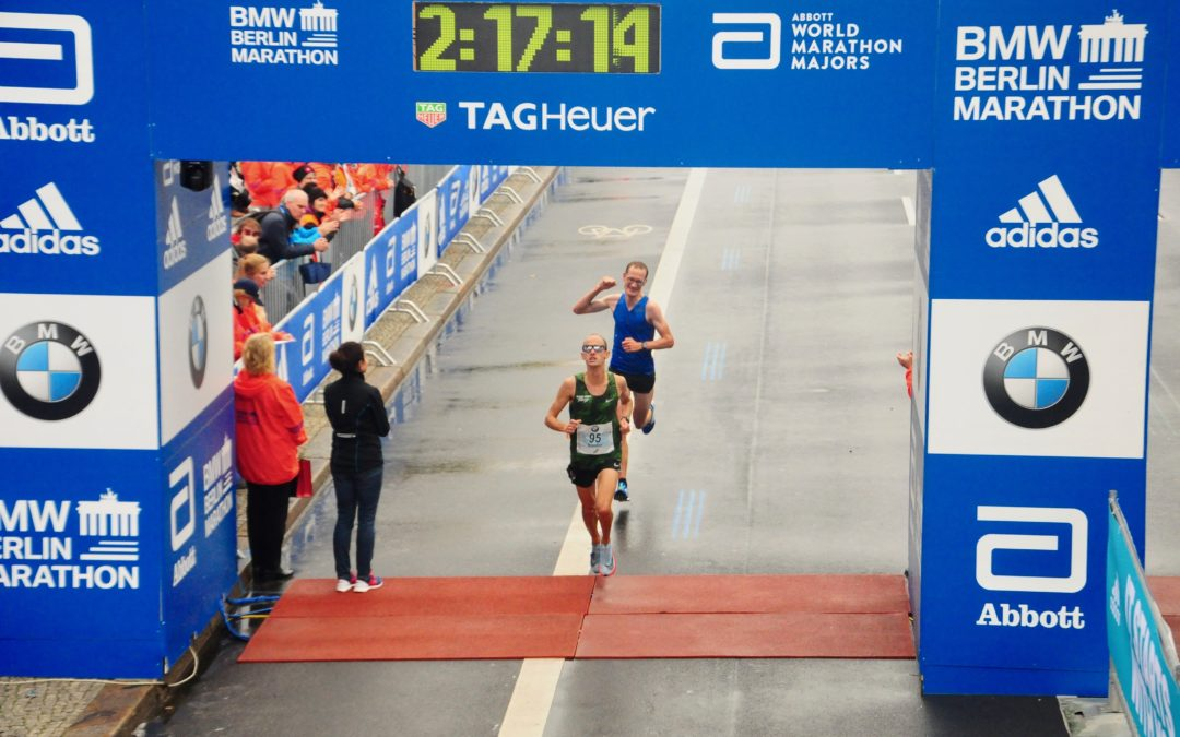 BMW Berlin-Marathon 2017 in 2:17:17