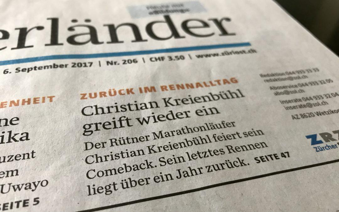Christian Kreienbühl greift wieder ein